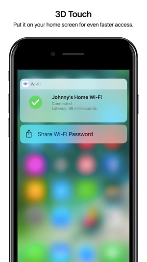 Wifi Widget - See, Test, Share Screenshot