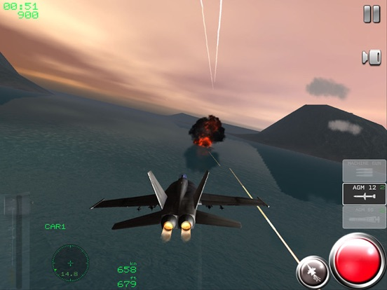 Air Navy Fighters на iPad
