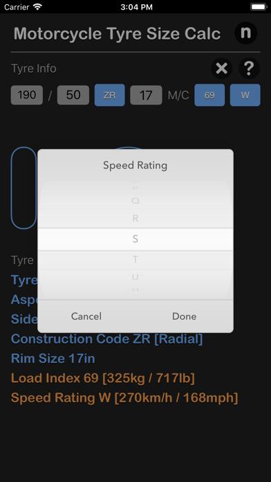 点击获取Motorcycle Tyre Size Calc