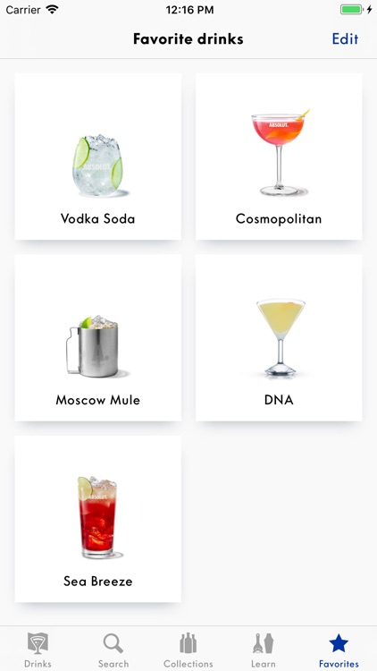 Drinkspiration - Drink Recipes screenshot-4