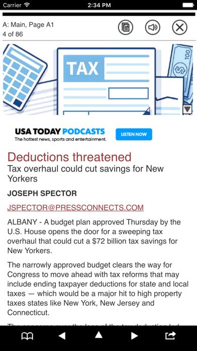 Pressconnects Print Edition Screenshot on iOS