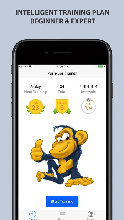 Push-ups Trainer screenshot-1