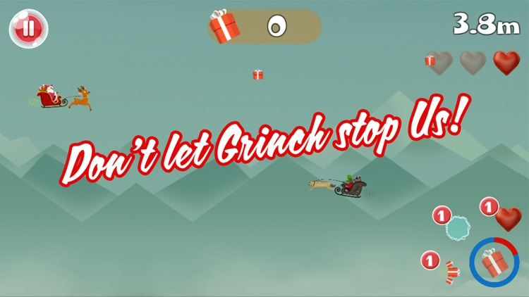 Flying Santa Christmas Rescue screenshot-3