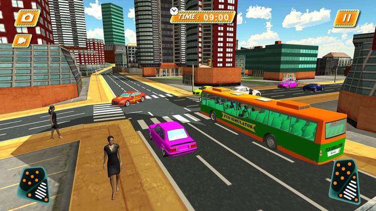 Euro City Coach Bus Driver 3d 2017 screenshot-3