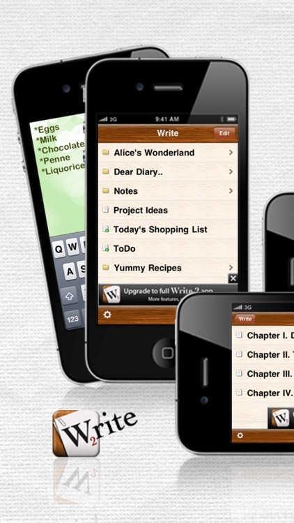Write 2 Lite - Note Taking & Writing