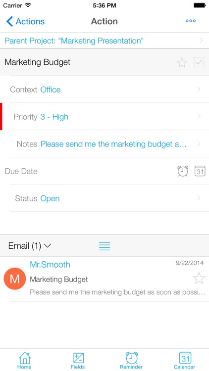 IQTell, Email + Task Management in One Place GTD® screenshot-4