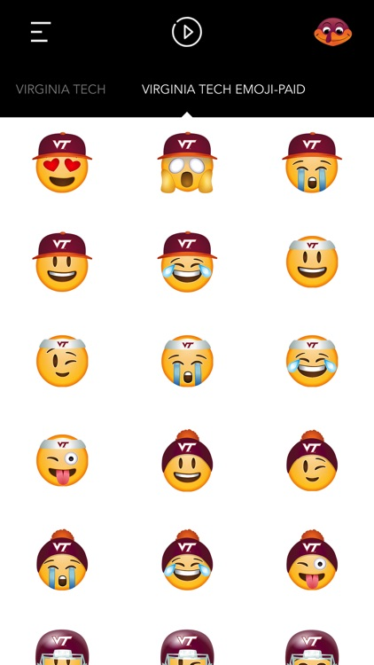 Virginia Tech Emoji screenshot-4