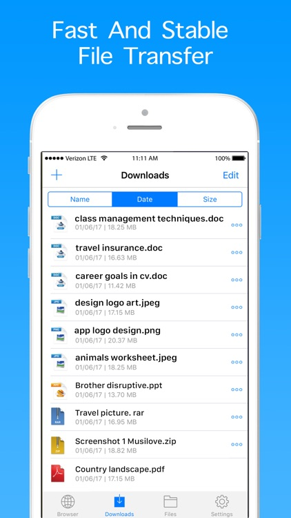 Private Browser & File Manager for Cloud Services