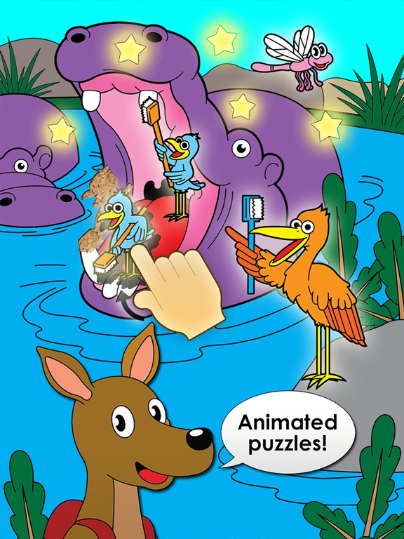 Animal Puzzles for Kids with Skills Free: The Best Activity Preschool Shape Games for Toddlers, Boys and Girls screenshot