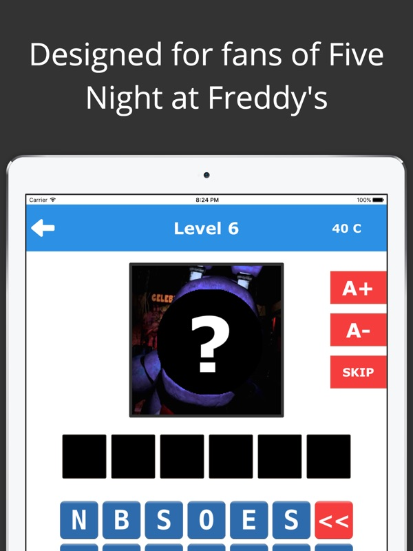 Freddy's Fan Quiz - FNaF Guess Edition - Online Game Hack