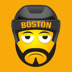 Boston Hockey Stickers & Emojis