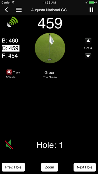 SkyDroid - Golf GPS Screenshot