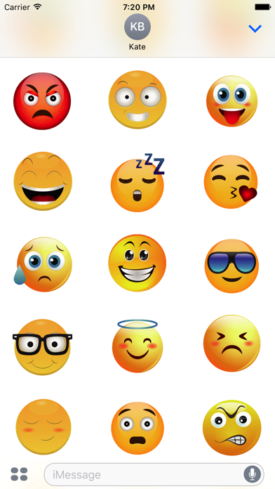 Animated Smiley Stickers screenshot three