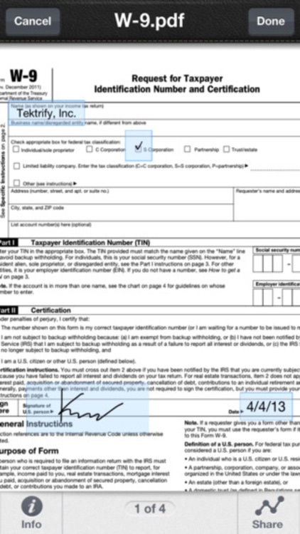 PDF Sign : Fill Forms & Send Office Documents screenshot-3