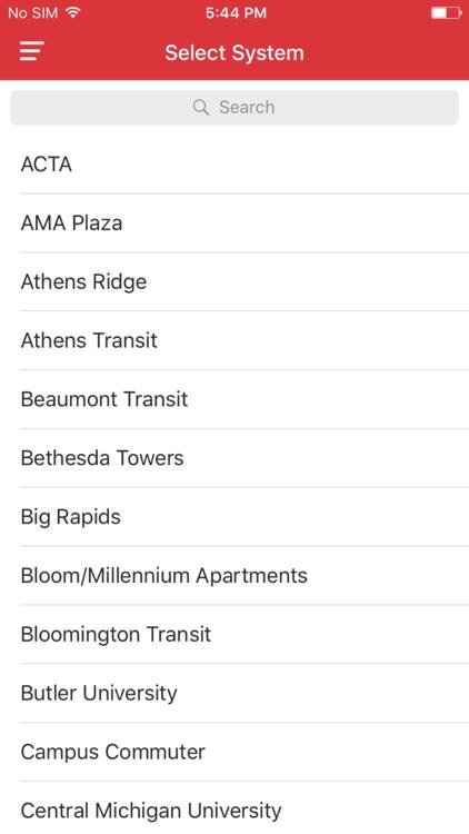 DoubleMap Bus Tracker screenshot-4