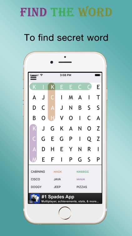 Find Word - Puzzle Word