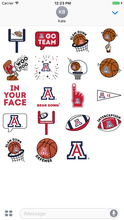 Arizona Animated+Stickers for iMessage