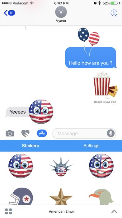 点击获取American Emoji - Great Emoticons for Texting