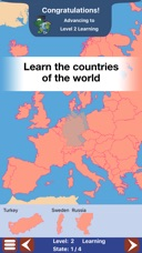 Geo Touch Geography Game US States The World On The App Store - Countries of the world game