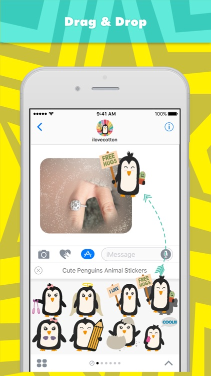 Cute Penguins Animal Stickers stickers