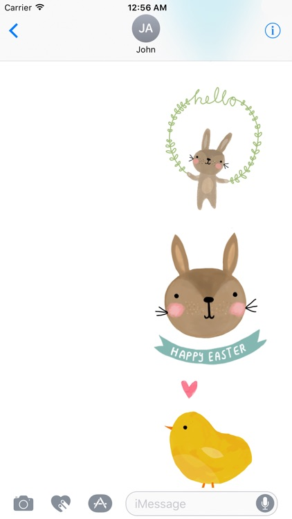 Cute Easter Wishes screenshot-2