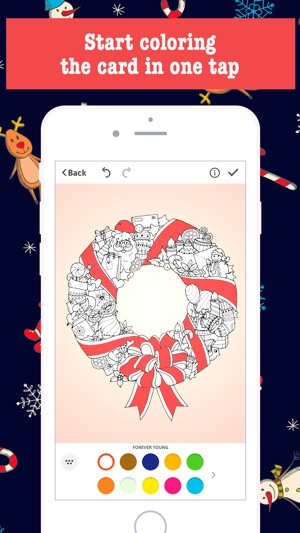 Merry christmas card maker free greeting cards on the app store m4hsunfo