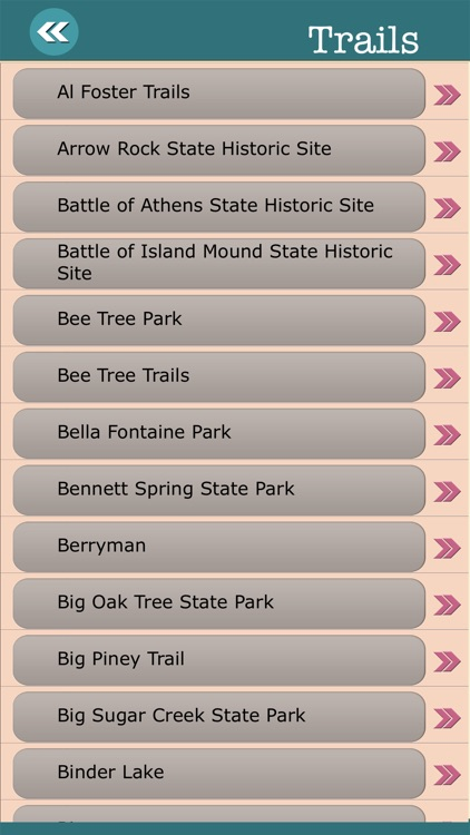 Missouri State Campgrounds & Hiking Trails screenshot-3