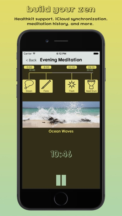 Zen Builder - Meditation & Relaxation Timer screenshot two