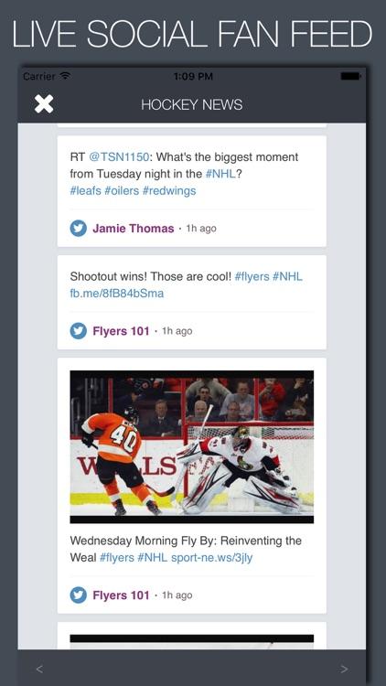 Live Hockey News & Predictions screenshot-3