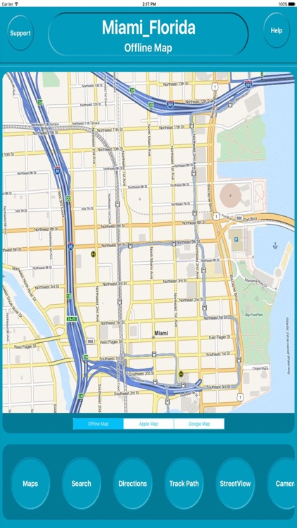 Miami Florida Offline City Maps Navigation