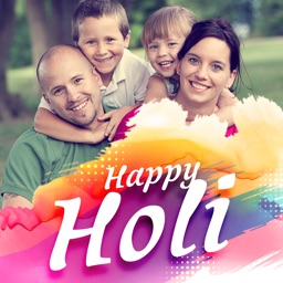 Holi Photo Frame - Best Frame of Colors
