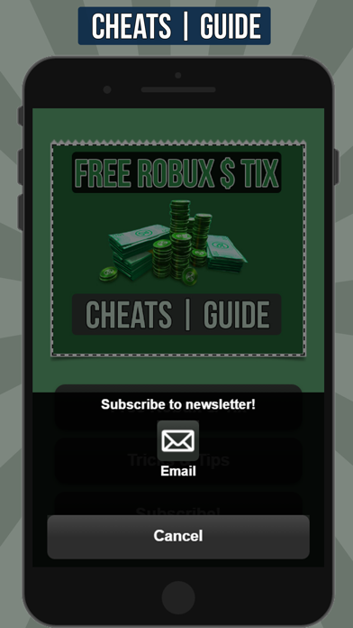 Screenshots of Free Robux for Roblox Cheats and Guide for iPhone