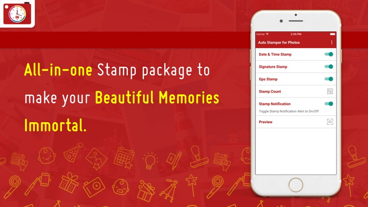 Auto Stamper - Date Time, Signature and GPS Stamp