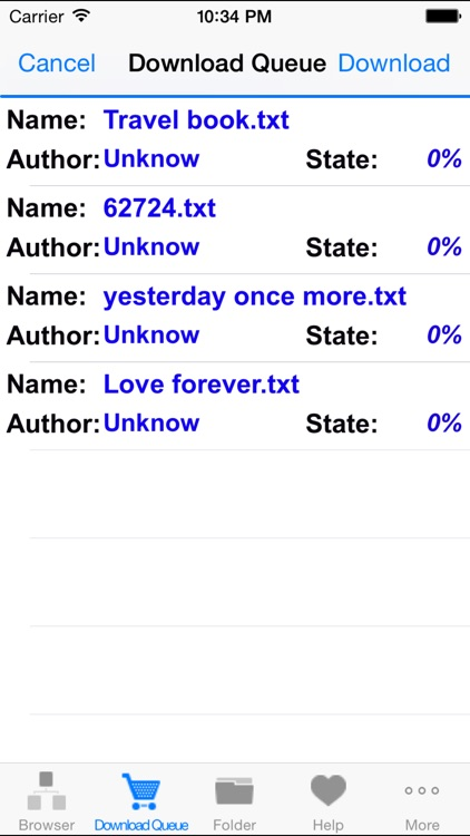 txt & text books downloader & reader - easy to use screenshot-3