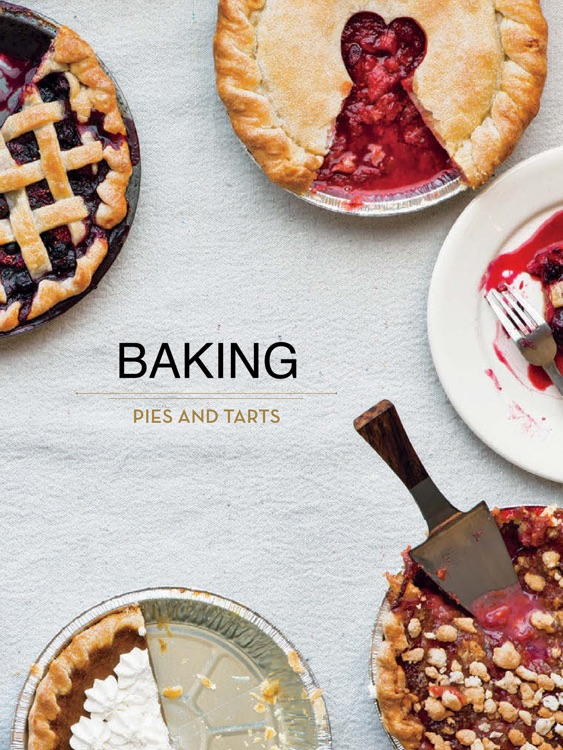Baking - Pies and Tarts for iPad