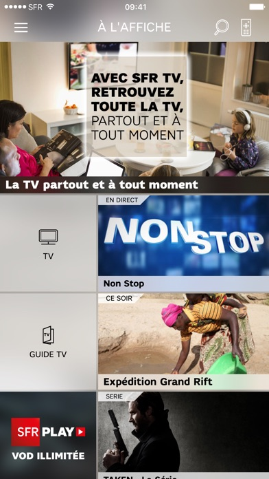 download SFR TV apps 1