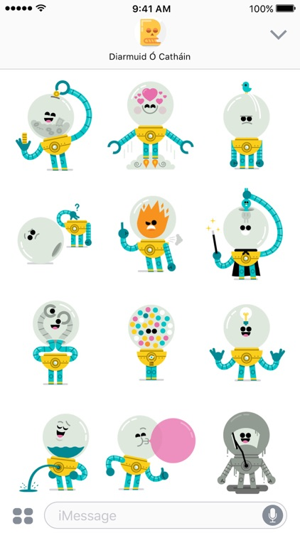 Orbo stickers screenshot-1