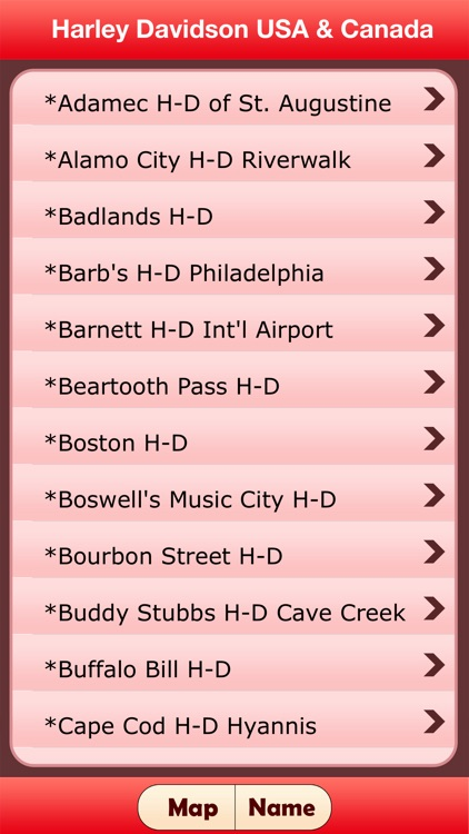 The Best App For Harley Davidson Locations screenshot-2
