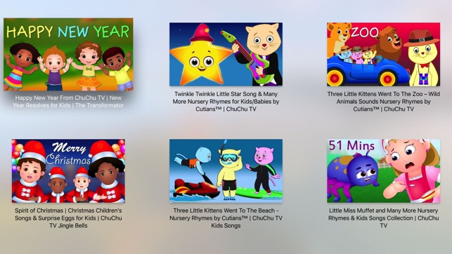 ChuChu TV Nursery Rhymes on the App Store