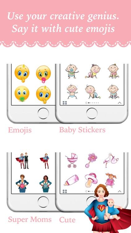 BabyMoji - Stickers for Baby Milestone Pictures screenshot-3