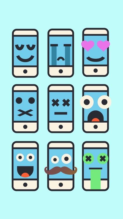 Phone Emoji Stickers