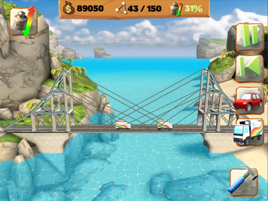 Bridge Constructor Playground For iOS Ties Lowest Price In A Month