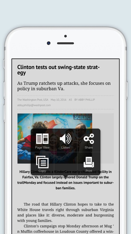 The Washington Post Newspaper in Education screenshot-3
