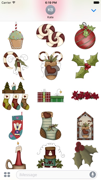 Christmas Stickers #4 for iMessage screenshot-1
