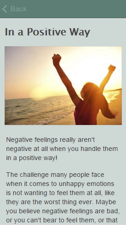 How To Handle Negative Emotions