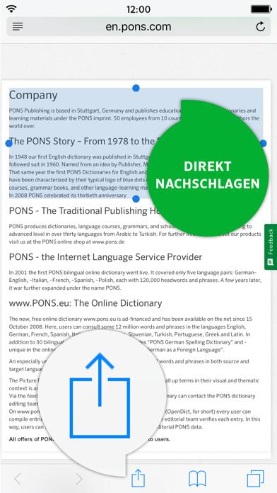 Wörterbuch Englisch - Deutsch ADVANCED von PONSのおすすめ画像4