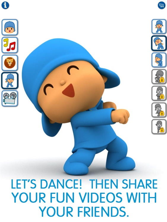 Talking Pocoyo HD Premium screenshot-4