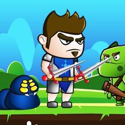 Heroic Knight Adventure Game