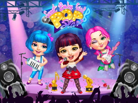 Sweet Baby Girl Pop Stars - No Ads screenshot 6