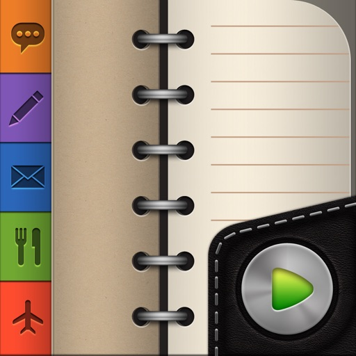 Groovy Notes for iPhone - Text & Voice Notes